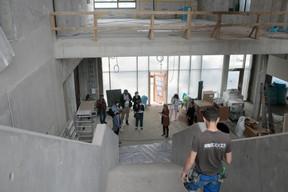 L'entrée du complexe scolaire Lenkeschléi. ((Photo: Matic Zorman/Maison Moderne))