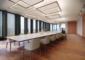 Les salles de réunion seront vastes et claires. ((Illustration: Moreno Architecture & Associés))