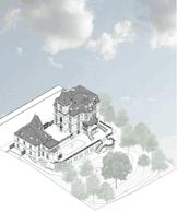 La Villa Pétrusse se compose d'une maison principale et d'une annexe. ((Illustration: Jim Clemes Associates))