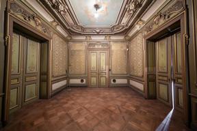 Un des salons du rez-de-chaussée. ((Photo: Jan Hanrion/Patricia Pitsch – archives Maison Moderne))