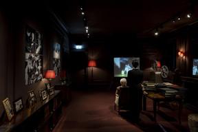 Au dernier étage de la maison, la famille Chaplin disposait d'une salle de projection. ((Photo: Eric Chenal))