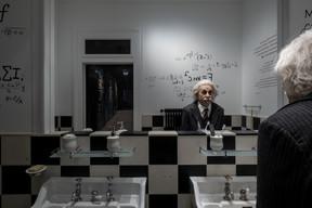 Albert Einstein faisait partie des personnalités qui ont fréquenté le manoir de Ban. ((Photo: Eric Chenal))