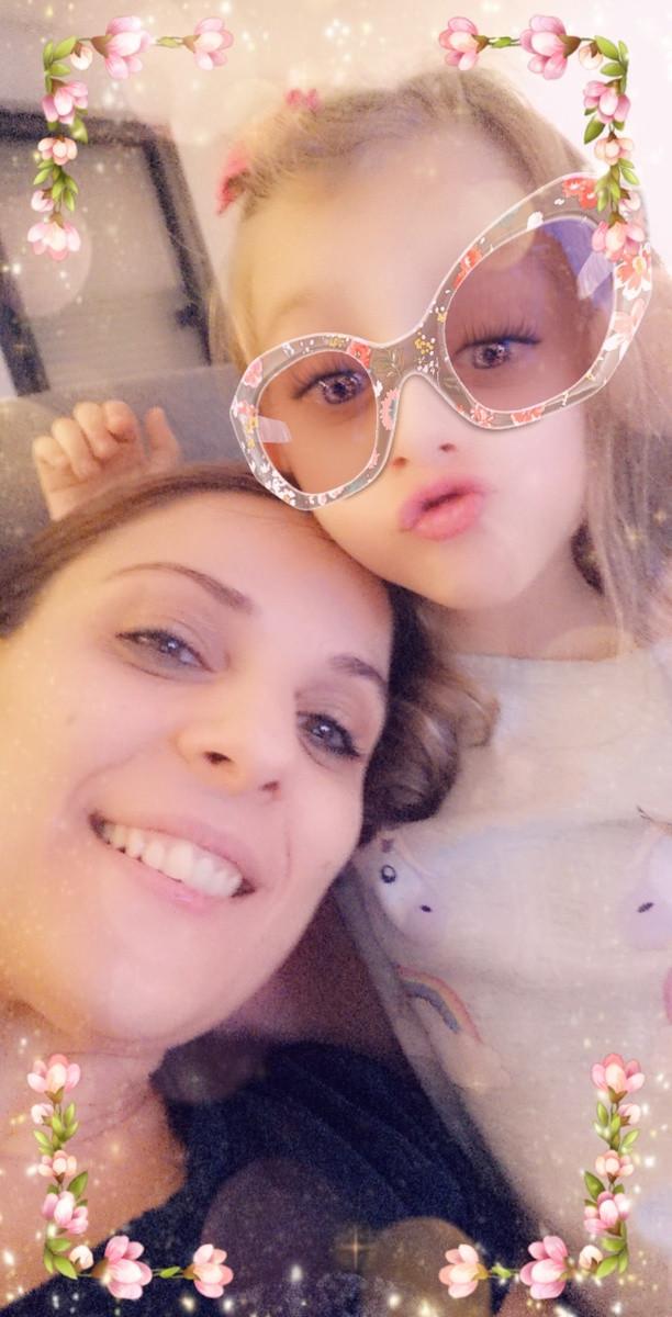 Tania Henriques et sa fille, Lea. (Photo: Tania Henriques)
