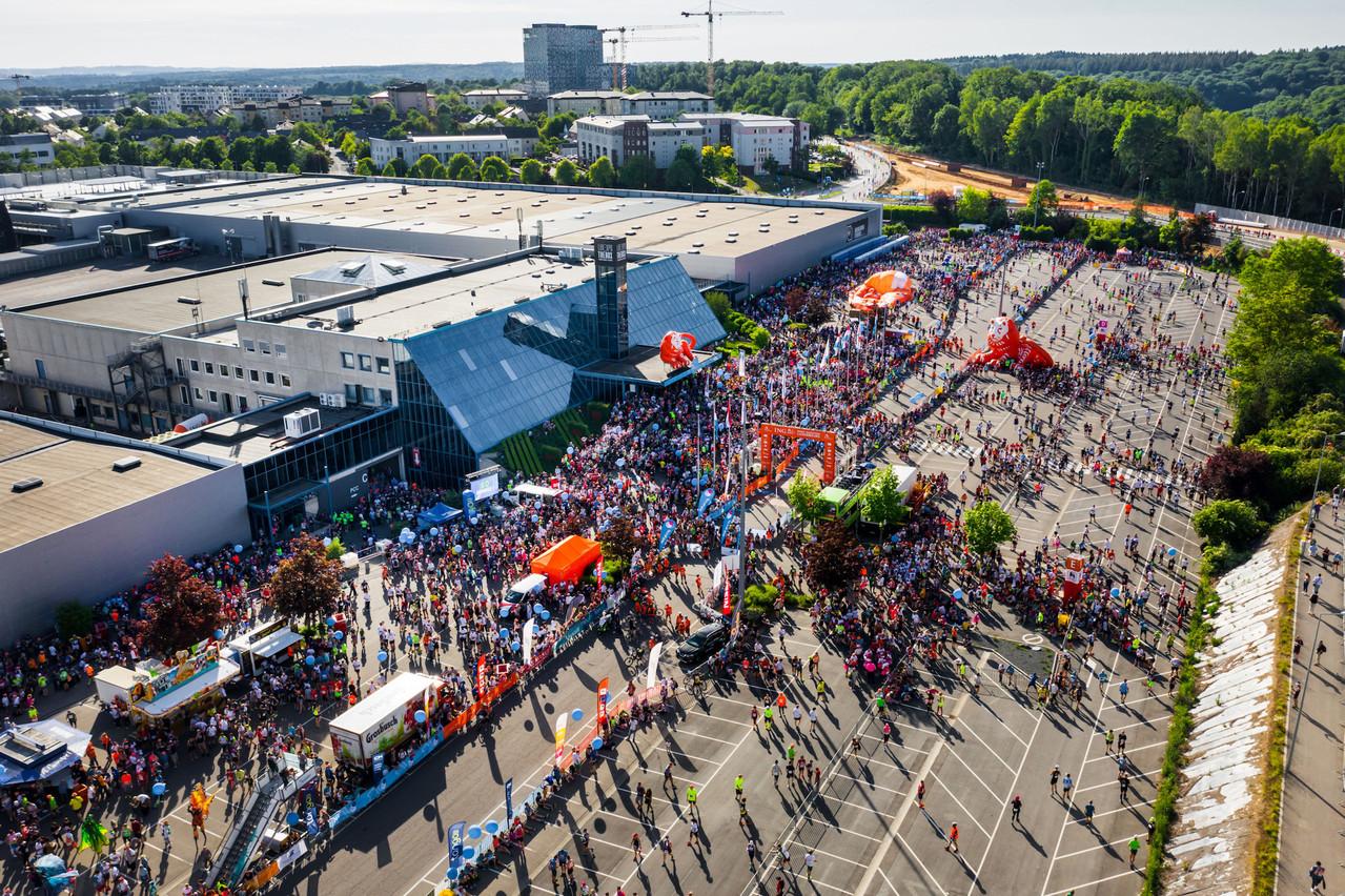 La Ville de Luxembourg a pris la décision le 23 mars d'annuler tous les événements sportifs, dont l'ING Night Marathon. (Photo: Nader Ghavami)