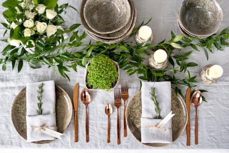 Les couverts et assiettes jetables, c'est du passé. (Photo: Shutterstock)