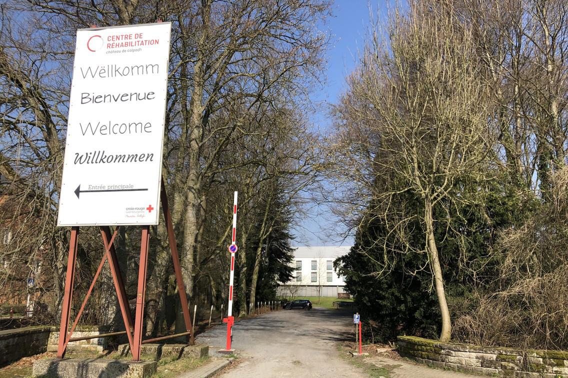 Dédié à la réhabilitation, le château de Colpach a été vidé de ses patients pour laisser place à des malades du Covid-19. (Photo: Paperjam)