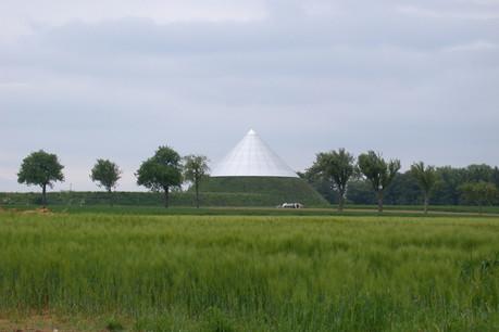 Le château d'eau s'intègre étonnamment bien dans le paysage.           (Photo: DR)