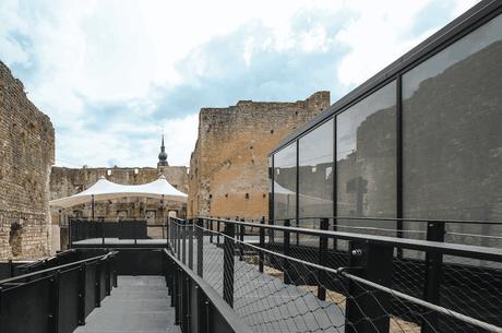 De nouvelles infrastructures ont été mises en place dans les ruines du château de Koerich. (Photo: Boshua)