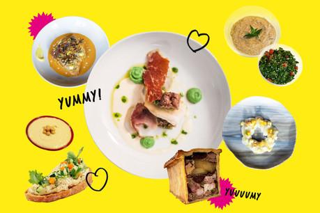 Repas gastronomiques, brunchs et autres mezze: les chefs reprennent leurs cuisines en main pour des menus du week-end alléchants! (Design: Eva Pontini / Maison Moderne)