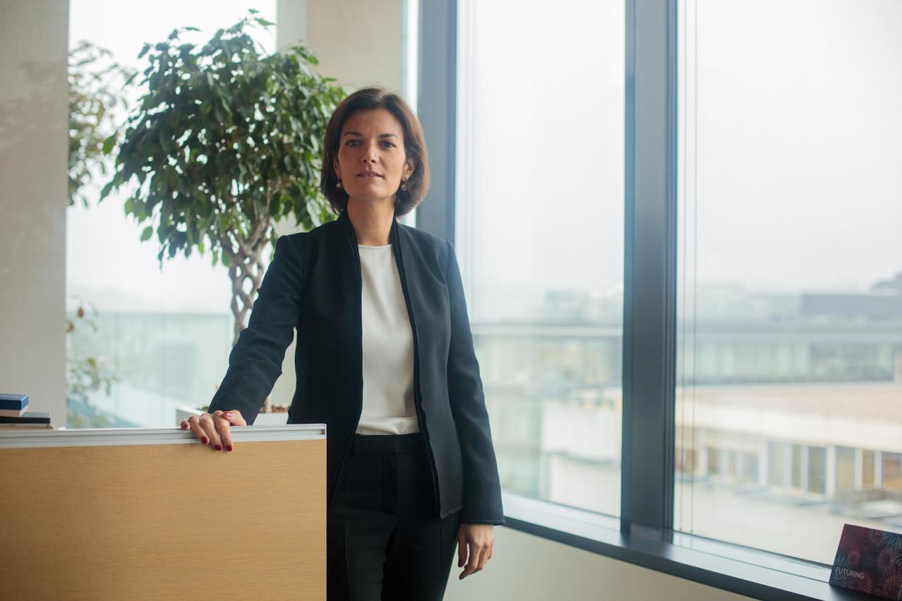 Julie Becker, CEO adjointe de LuxSE et fondatrice du LGX, se réjouit de l'émission de l'obligation verte de China Development Bank. (Photo: Matic Zorman/archives)