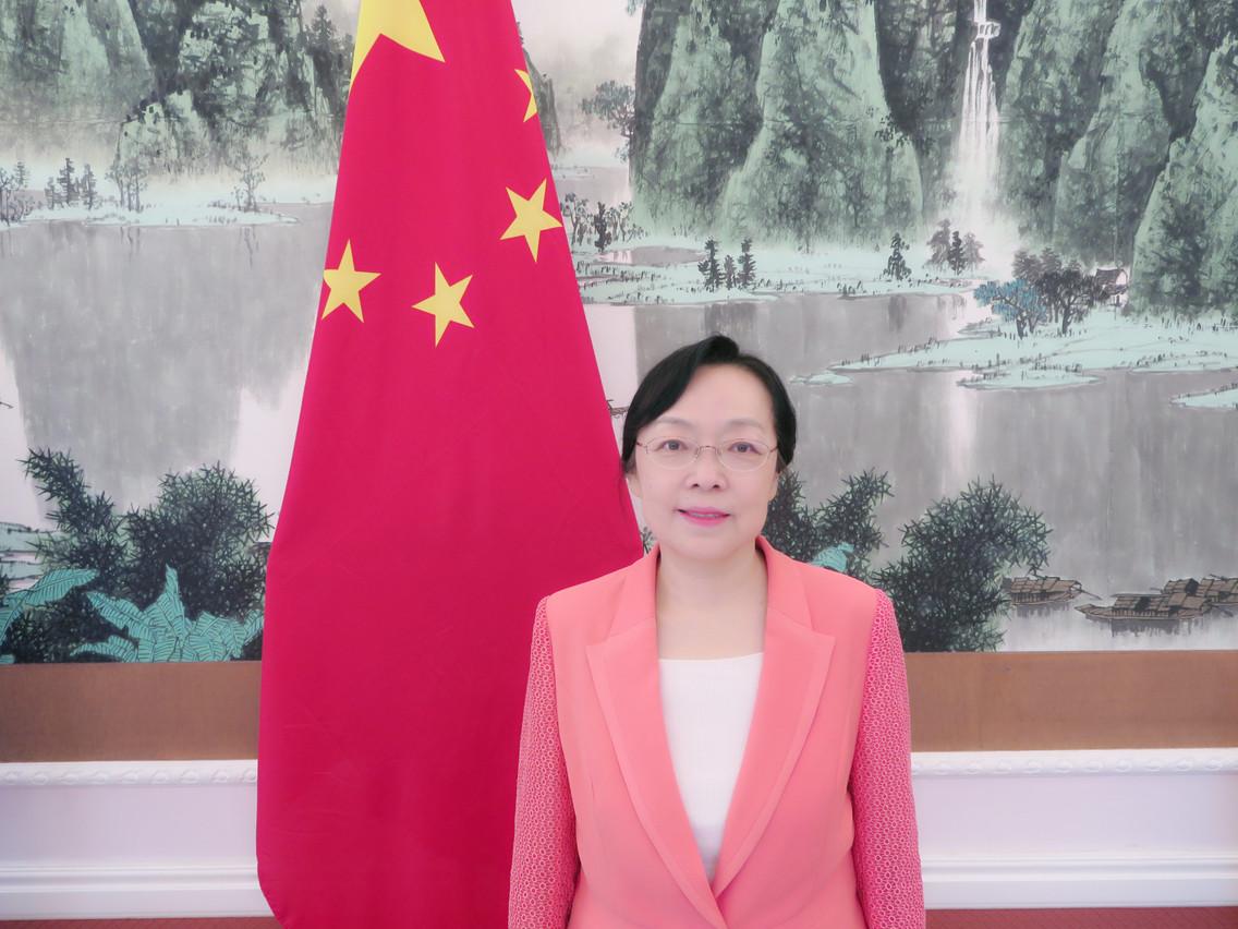Discrète dans les médias, SE Yang Xiaorong a répondu par écrit aux questions de Paperjam. (Photo: Ambassade de Chine au Luxembourg)