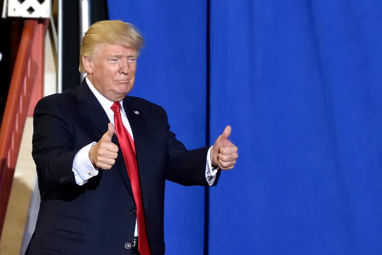 Déjà en campagne électorale, DonaldTrump se félicite d'avoir pu signer un premier accord avec Pékin. (Photo Shutterstock)
