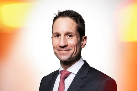 Vincent Juvyns, Global Market Strategist chez JP Morgan. (Photo: Maison Moderne)