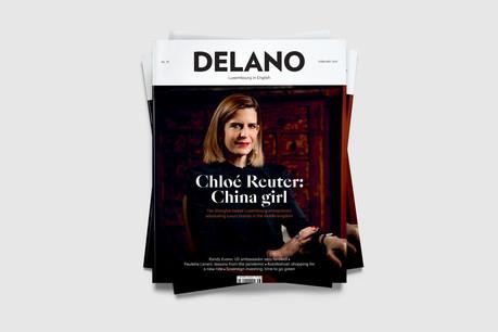 Édition de février 2021 de Delano, en kiosque le 20 janvier. (Visuel: Maison Moderne)