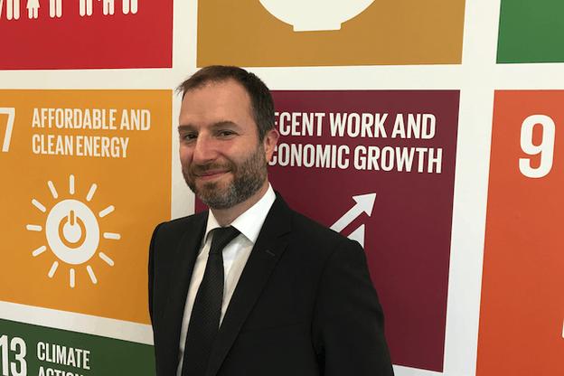 Nicolas Deltour: «Candriam a une expérience de 20 ans dans la finance durable.» (Photo: Paperjam)