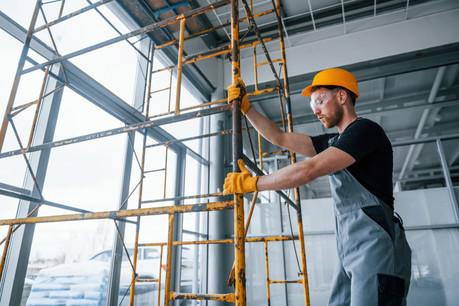 Le secteur de la construction a déjà perçu près de 200 millions dans le cadre du chômage partiel. (Photo: Shutterstock)