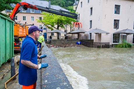 Suite aux inondations du mois de juillet, 15 entreprises ont encore fait appel au chômage partiel pour le mois d'octobre. (Photo: SIP/Jean-Christophe Verhaegen/Archives)
