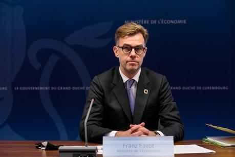 «Le dialogue social a bien fonctionné depuis le début de la crise», s'est félicité le ministre de l'Économie, FranzFayot (LSAP). (Photo: Matic Zorman / Maison Moderne / archives)