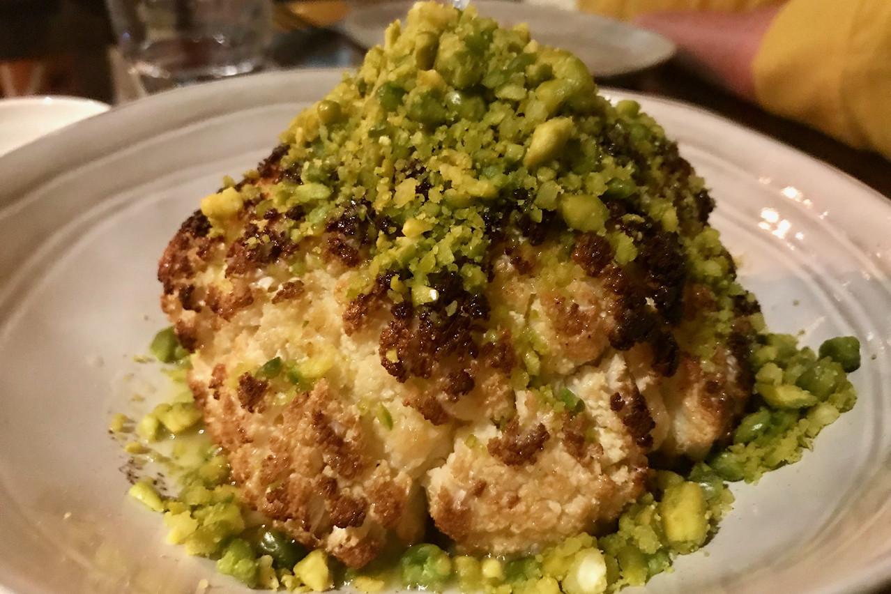 Oubliez le chou-fleur d'antan: il est aujourd'hui sexy dans les meilleures assiettes! (Photo: Maison Moderne)