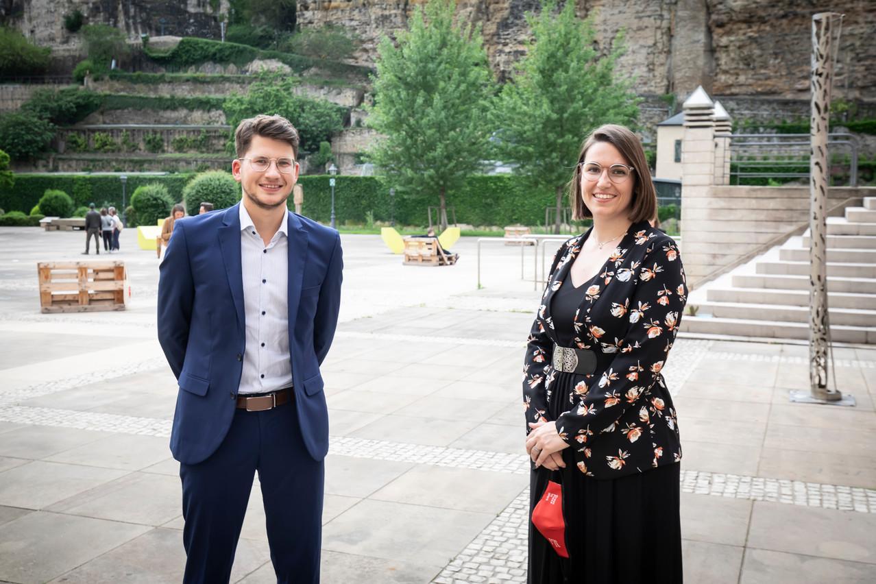 SebastianLöfgen et JustineBousquet se partagent désormais la direction de Great Place to Work Luxembourg. (Photo: Great Place to Work)