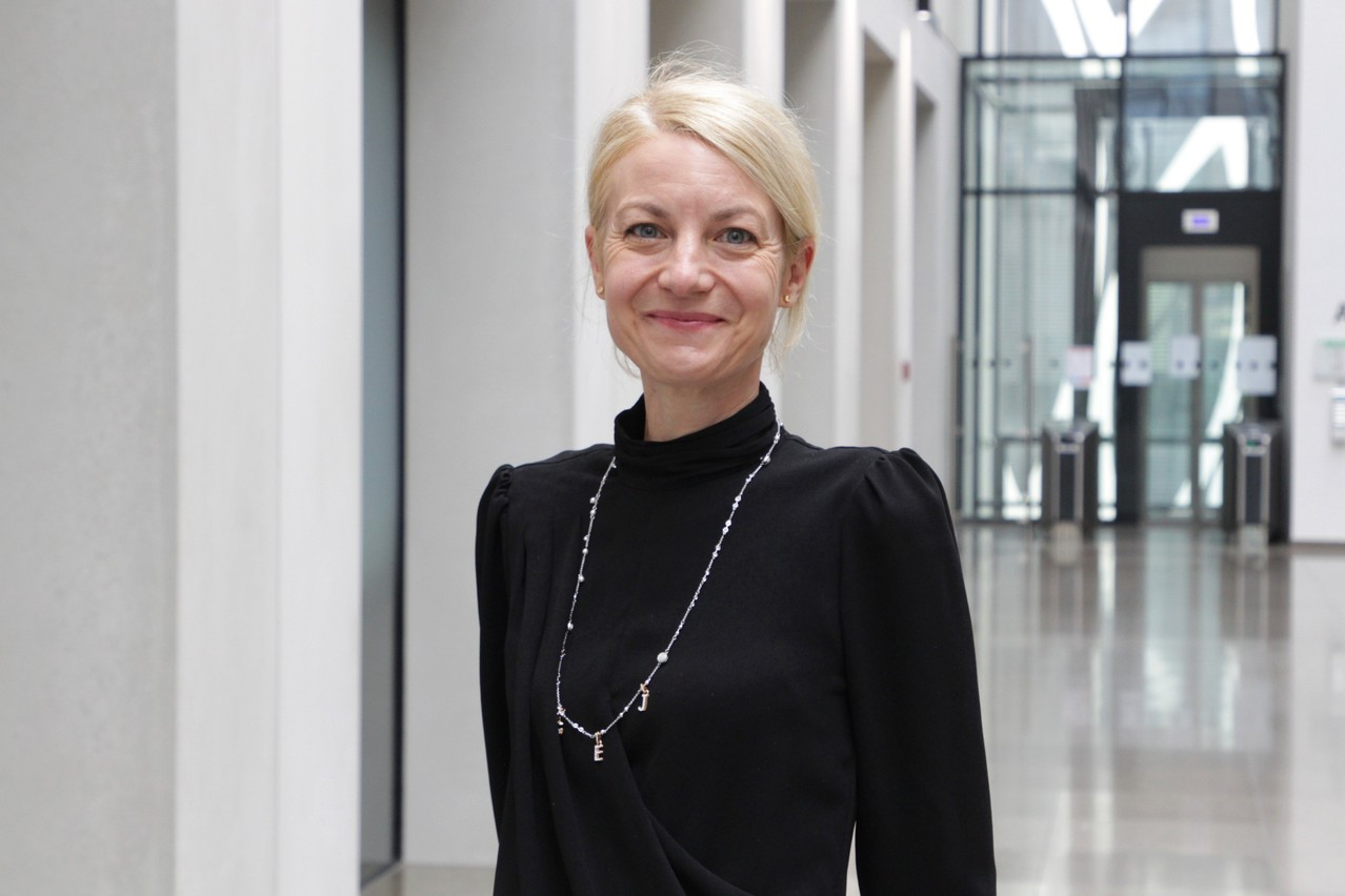 Christiane Chadoeuf started her career as a junior auditor at Deloitte in Paris (Photo: Deloitte Luxembourg)
