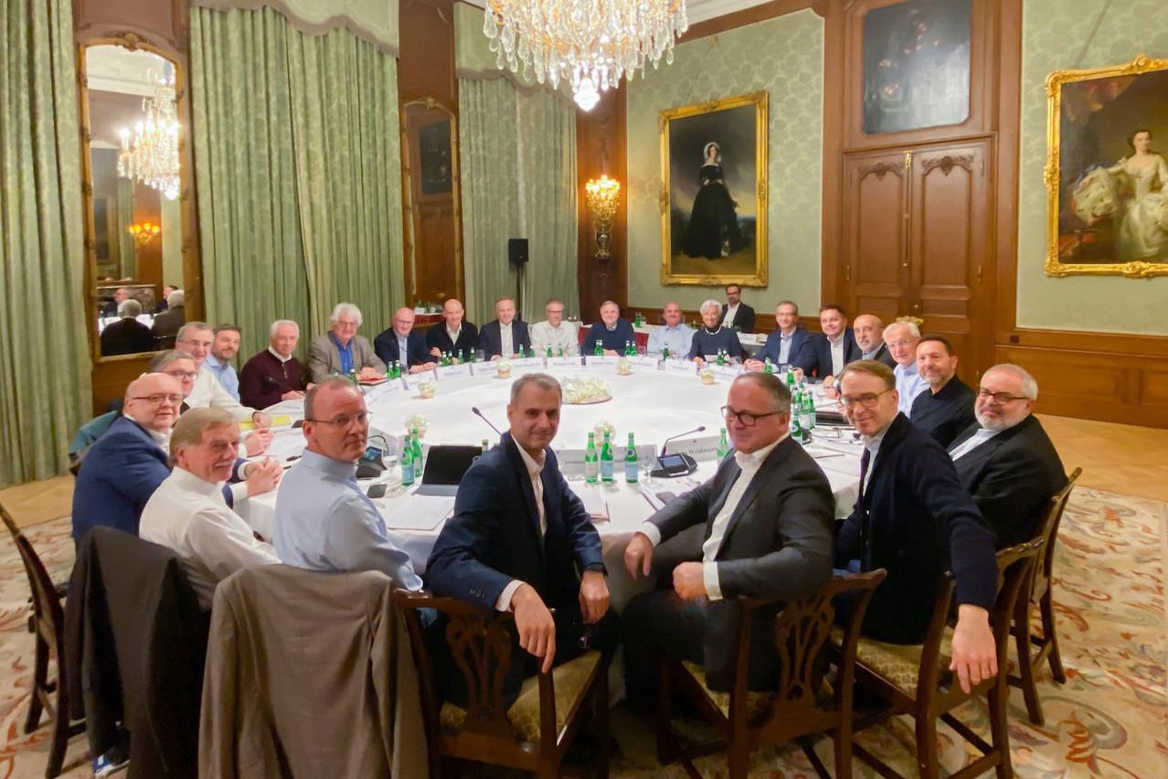 Les 19gouverneurs du conseil de la BCE, tous des hommes, sont toujours nommés par les gouvernements de leurs propres pays.  (Photo: @Lagarde / Twitter)