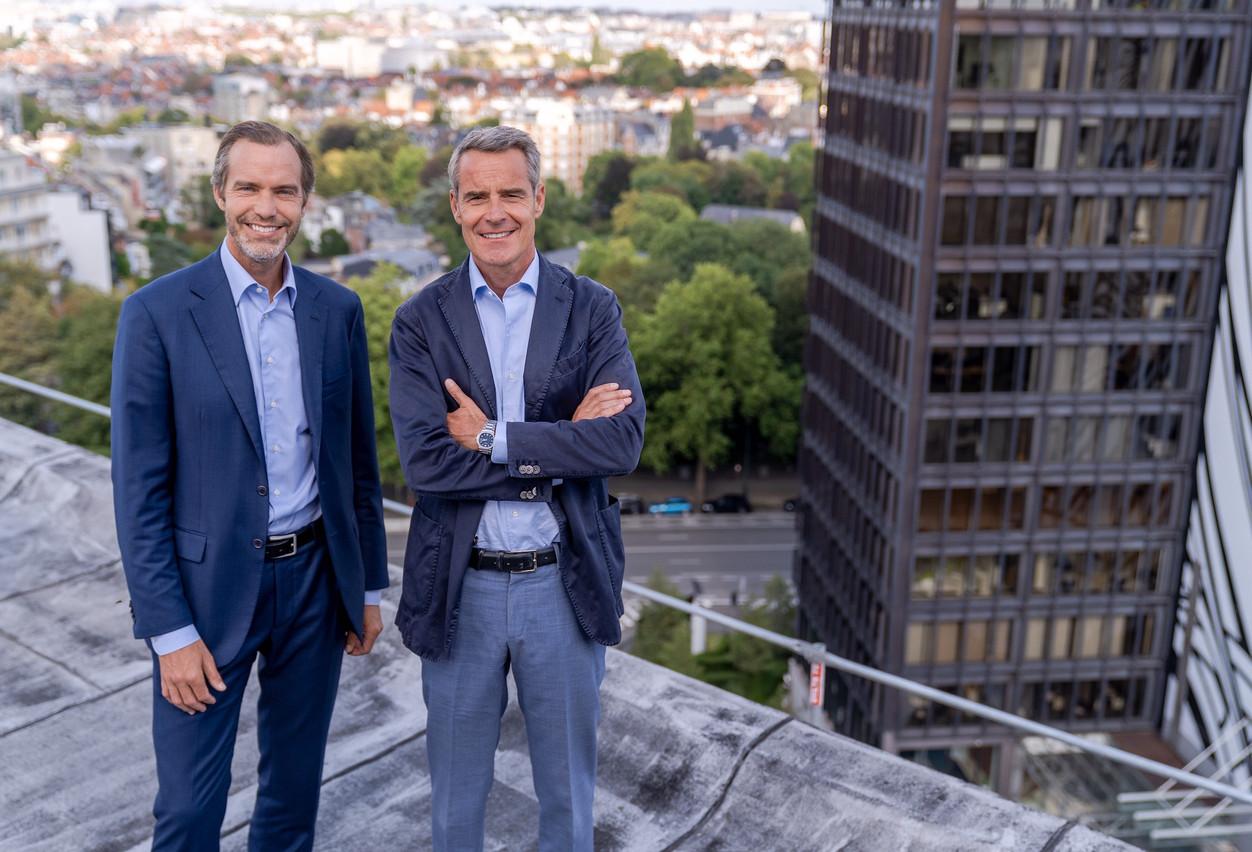 Gaétan Clermont et Nicolas Orts restent tous deux CEO et actionnaires à concurrence de 35%, conjointement avec l'actionnaire historique qui garde une participation équivalente. (Photo; Yves Noel)