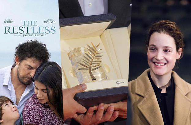 Samsa Film, qui coproduit «Les Intranquilles», et l'actrice VickyKrieps, à l'affiche de«Bergman Island», représenteront le cinéma luxembourgeois à Cannes cette année. (Photomontage: Maison Moderne. Photos: DR; Shutterstock;Edouard Olszewski)