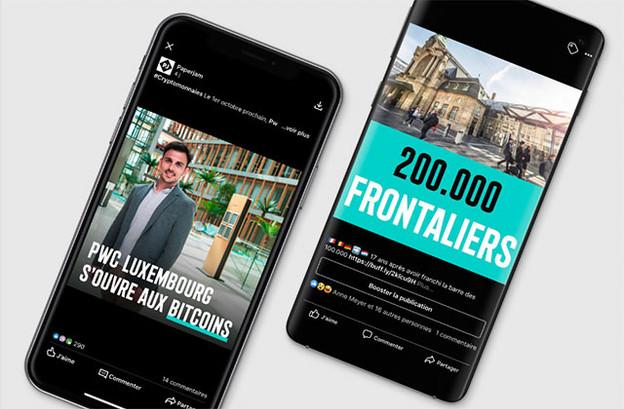 Les 200.000 frontaliers au Luxembourg et les paiements en bitcoins chez PwC ont fait réagir les suiveurs de Paperjam sur les réseaux sociaux. (Photo: Paperjam)