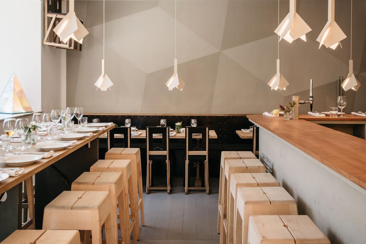 Rahel Belatchew trouve ce restaurant cosy et ses plats délicieux. (Photo: Page Facebook de Woodstockholm)