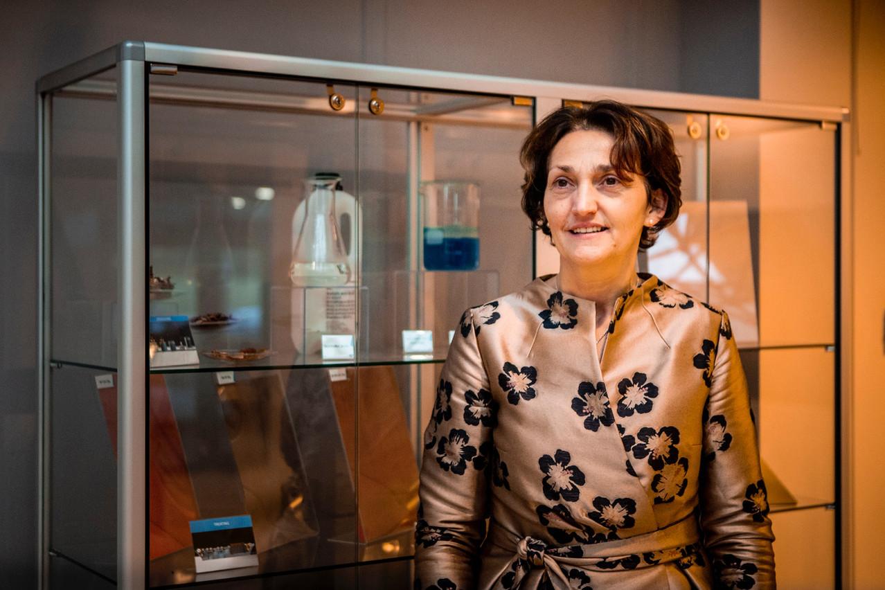 Pour Fabienne Bozet, la CEO de Circuit Foil, cet investissement est un signe de confiance de la part du groupe Doosan, propriétaire de l'entreprise de Wiltz. (Photo: Patricia Pitsch - Maison Moderne Publishing SA)