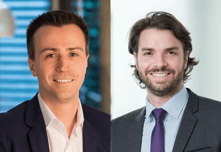 Laurent Berliner, Partner   EMEA FSI Risk Advisory Leader, et Bertrand Parfait, Partner   Risk Advisory chez Deloitte. (Photo: Deloitte Luxembourg)