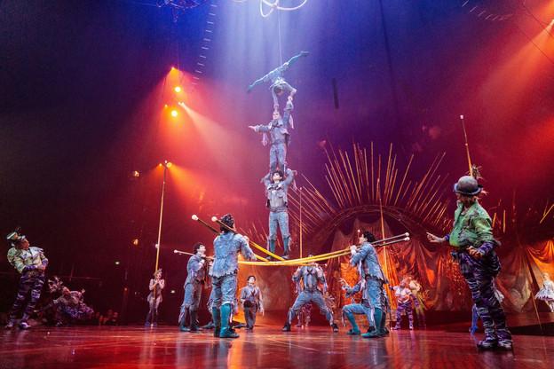 Le Cirque du Soleil avait licencié 3.500 personnes en juin dernier après avoir demandé la protection des tribunaux. (Photo: Shutterstock)