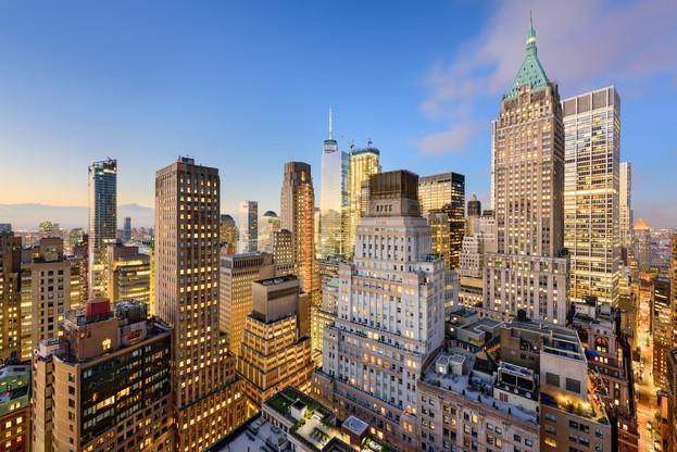 La place financière new-yorkaise est considérée par 60% des experts comme première place financière mondiale. (Photo: Shutterstock)