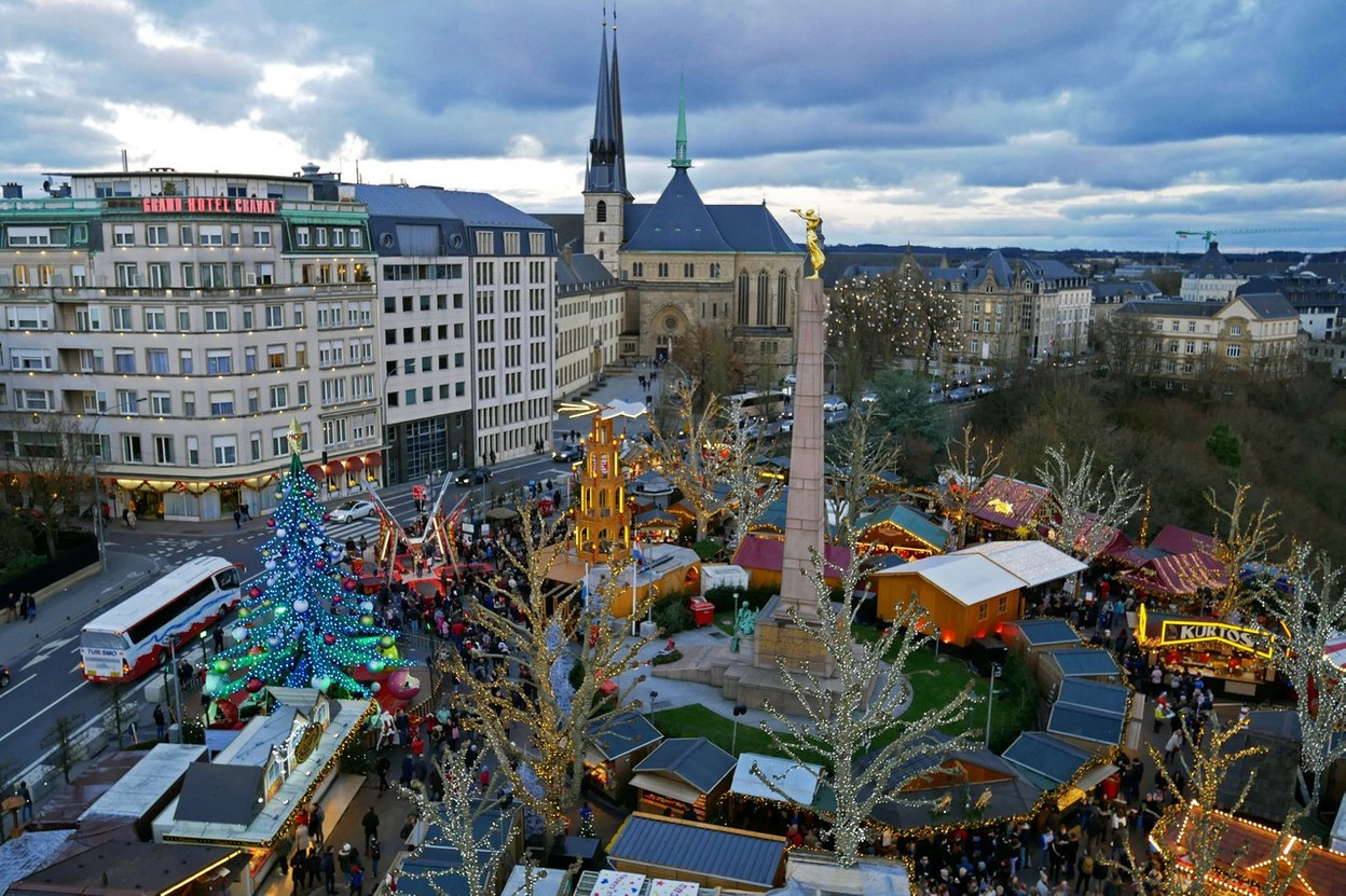 Luxembourg City is hoping to bring back a Christmas market this year Photo: Shutterstock