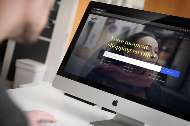 Le nouveau portail veut référencer l'ensemble des boutiques, restaurants et cafés de Luxembourg-ville. (Photo: Montage Maison Moderne)