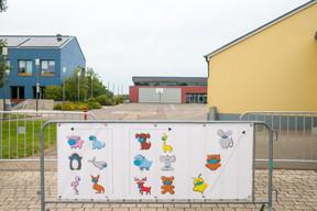 À Reckange-sur-Mess, une approche ludique a été mise en place. Les enfants devront suivre des personnages sous forme d'animaux pour respecter leur parcours dans l'école. ((Photo: Matic Zorman / Maison Moderne))
