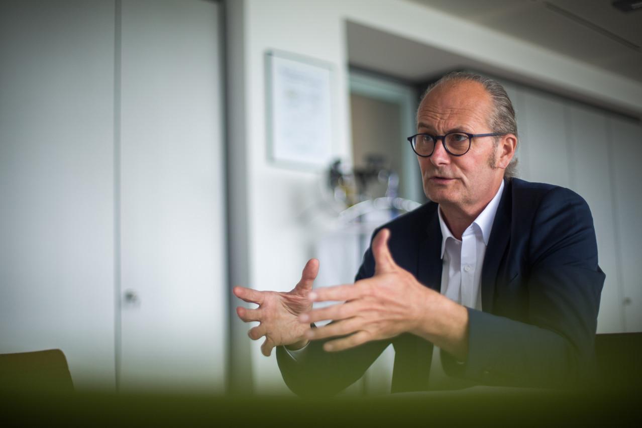 ClaudeTurmes a affirmé travailler pour mettre en place une subvention pour les entreprises qui souhaitent installer des bornes de recharge. (Photo: Matic Zorman/Paperjam)