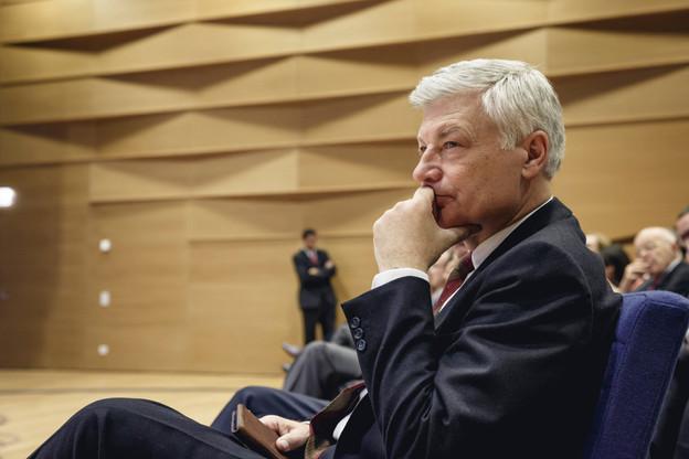 La candidature de Claude Wiseler à la présidence du parti devra être validée le 24 avril par le parti réuni en congrès. (Photo: Jan Hanrion /Maison Moderne / Archives)