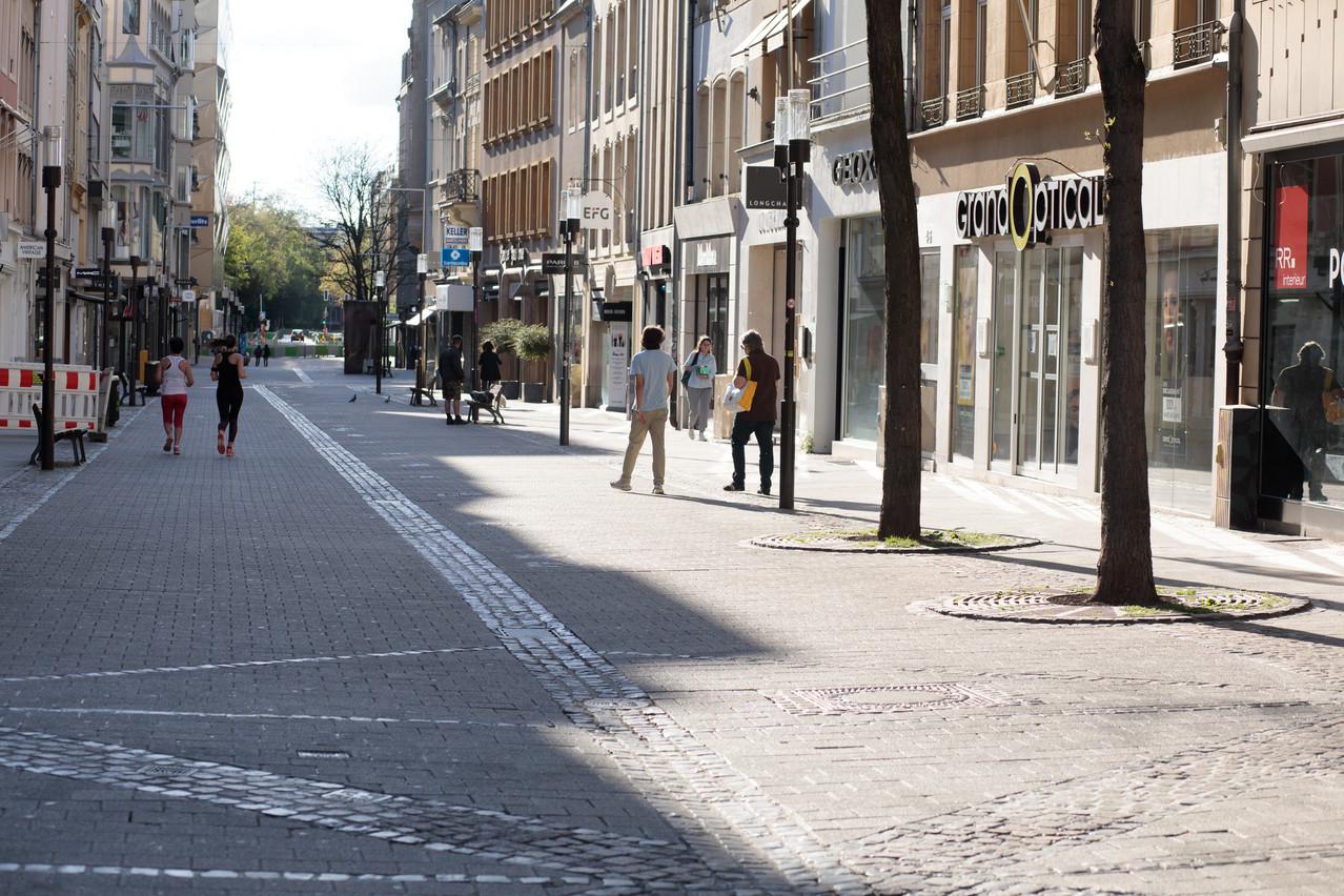 Les magasins luxembourgeois attendent patiemment une date de réouverture. (Photo: Matic Zorman/Maison Moderne)