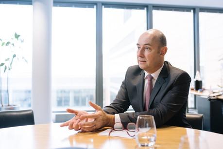 Philippe Seyll, CEO de Clearstream, diversifie l'offre de services de la société. (Photo: Edouard Olszewski)