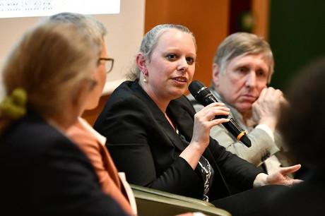 Pour être crédible, le politique doit être exemplaire. Au Luxembourg et partout ailleurs, a rappelé la ministre de l'Environnement,Carole Dieschbourg, à l'issue du Conseil européen. (Photo: Julien Swol / Archives)