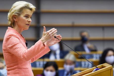 À la fragilité du monde, de la société et de l'environnement, la présidente de la Commission européenne, Ursula von der Leyen, a opposé une nouvelle vitalité. (Photo: Commission européenne)