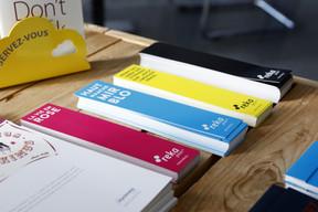 Il n'y a pas que le papier recyclé: le papier issu de forêts certifiées durables peut répondre aux défis environnementaux du métier d'imprimeur. ((Photo: Olivier Minaire))