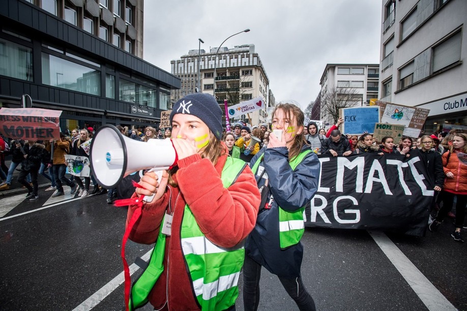 Youth for climate Luxembourg's strike will begin at Luxembourg city's train station on Friday at 10 am. Photo: Nader Ghavami