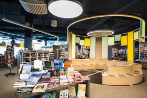 Chez Ernster, un espace arena accueillera des lectures, rencontres et autres événements. ((Photo: Nader Ghavami))