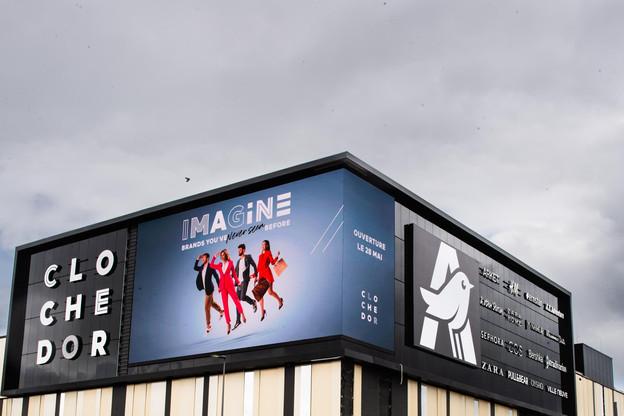 Le centre commercial Cloche d'Or ouvre ses portes ce mardi 28 mai à 9h. (Photo: Nader Ghavami)