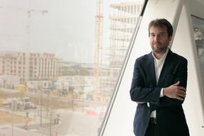 Matteo Perino espère boucler les négociations «d'ici novembre» avec les commerçants du centre: leurs charges et loyers ont été suspendus pour la période du confinement, et non pas annulés. ((Photo: Matic Zorman/Maison Moderne))