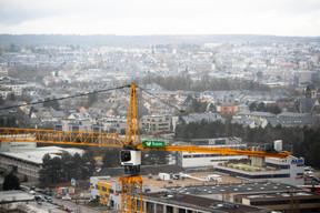 Une vue sur la capitale en mouvement et en mutation. ((Photo: Anthony Dehez))