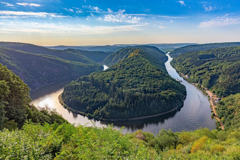 La boucle de la Sarre, un panorama exceptionnel qui est l'emblème du land allemand. (Photo: Shutterstock)
